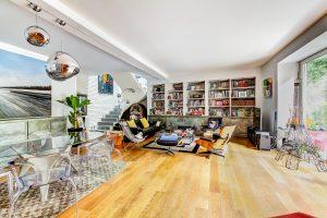 Vast open living room