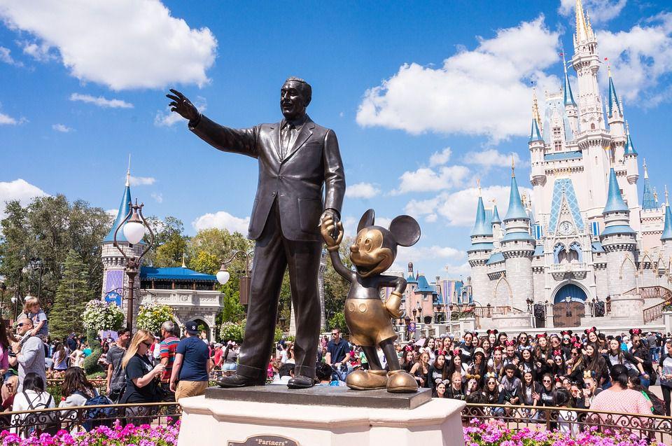 Disneyland - one of the many joys of moving to Florida.