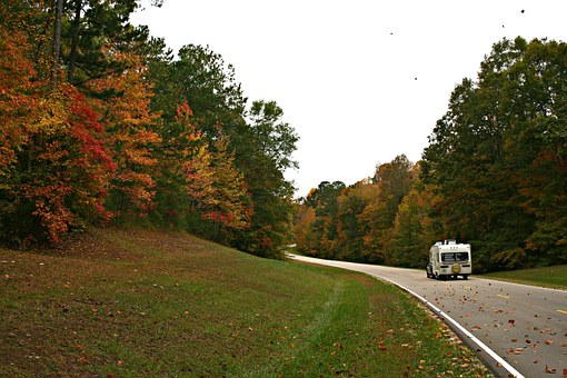 Driving down the Mississippi road