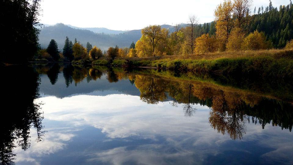 Sainte Maries river, Idaho.