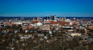 View on Birmingham city