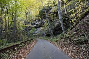 Side roads in West Virginia can be tricky to navigate, so you should avoid them if possible.