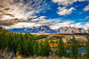 Grand Teton National Park, just one of the destinations to explore in Wyoming.