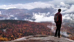 Hiking and mountain-climbing are just some of the activities you can explore in new Hampshire.
