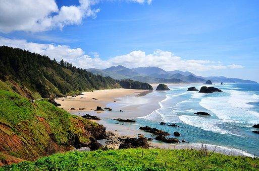 Coastline in Oregon