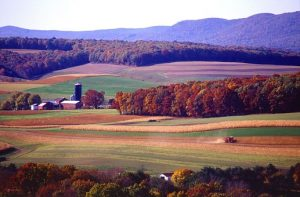 Beautiful landscape in Pennsylvania