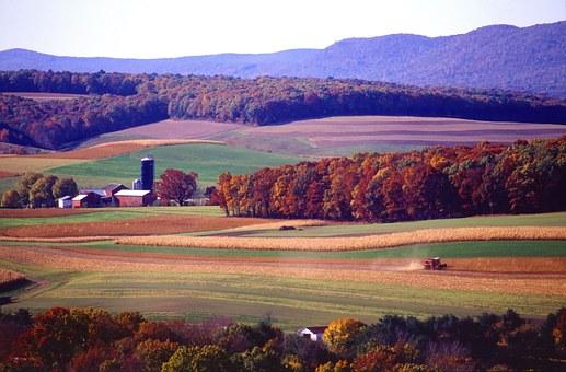 Beautiful landscape in Pennsylvania