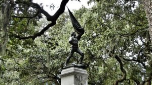 Statua in Savannah