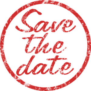 Stamp: save the date