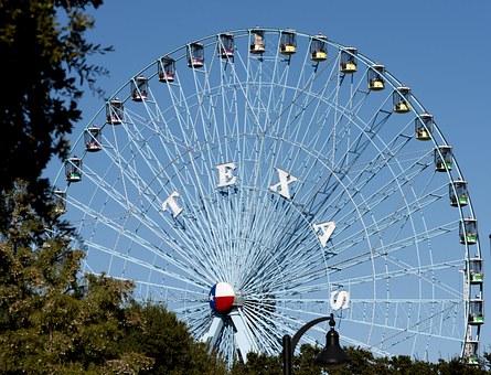 a huge dollop of Texas pride