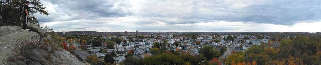 Overview of the West Side in Manchester, NH