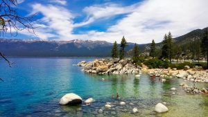 The emerald waters of Lake Tahoe are a must see for all newcomers in Sparks.