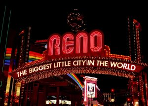 Reno - the biggest little city in the world.