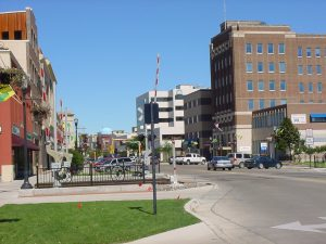 Downtown Fargo, just a part of the puzzle that long distance moving companies Fargo can help you explore.