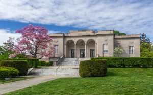 William H Hall Free Library in Cranston, RI