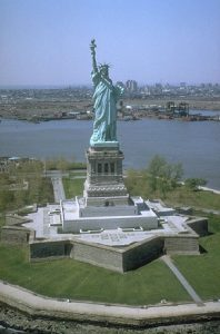 The Statue of Liberty is in close proximity to Yonkers.