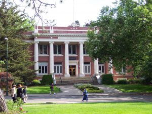Johnson Hall at University of Oregon