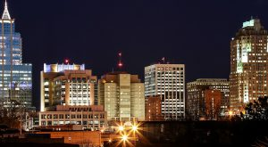 Enjoy the night lights of Raleigh after your successful move with long distance moving companies Raleigh.