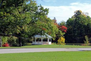Gazebo in East Providence park worth exploring, after long distance moving companies East Providence are done.
