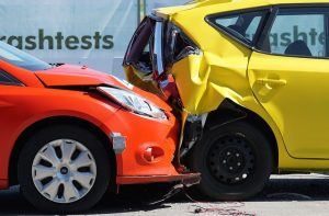 The aftermath of a crash test. Don't forget to get insurance when you register your out of state car in Texas.