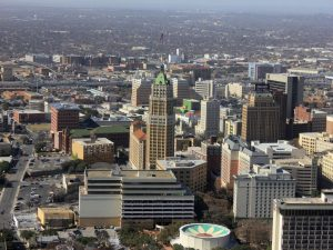 A view of downtown San Antonio, one of the best cities for veterans in the US!