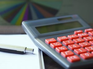 Pen, paper and calculator.