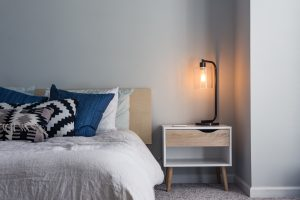 What rooms to unpack first? Start with the bedroom
