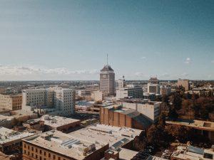 Fresno skyline