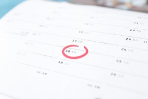 Calendar - one of the important moving quotes is to pick an off-peak moving day and save money!