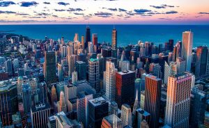 Beautiful Chicago city!