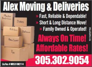 Alex Moving & Delivery Inc.