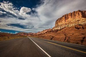 A road in Utah.