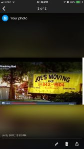 Joe's Moving