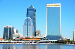 A view of Jacksonville.
