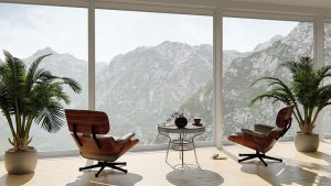Bozman movers will move you safely to your new home with chairs and a great view