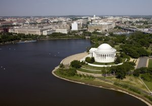 Jefferson memorial is one of the monuments in Washington DC