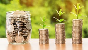 Long distance moving companies Lake Charles - money in coins
