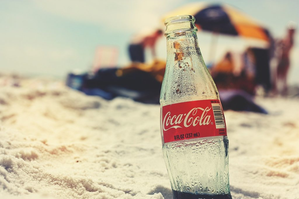 A Coca-Cola bottle - Moving from Tampa to Atlanta