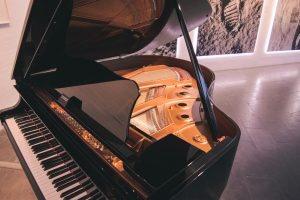 A piano that only the best long distance moving companies Chattanooga can move.