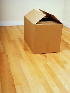 A moving box long distance moving companies Eugene would use for packing