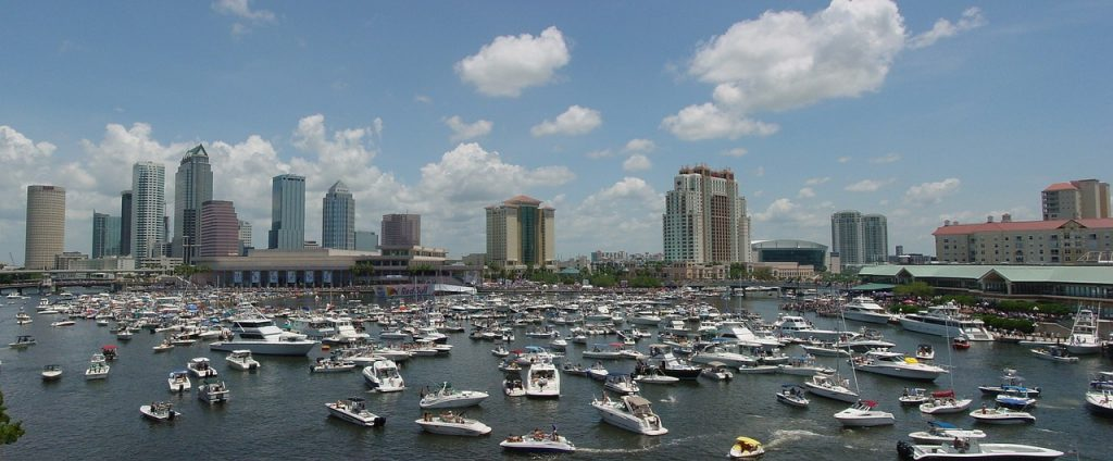 Tampa's skyline- Moving from Tampa to Atlanta