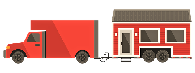 A mobile home isn't easy to move.