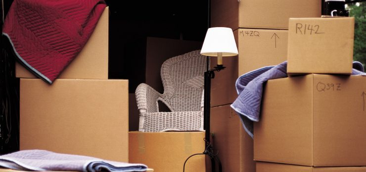 moving boxes long-distance moving companies Spokane