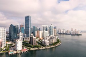 Top places people are moving to for jobs- Miami skyline