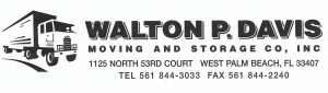 Walton P. Davis Moving & Storage Co, Inc.