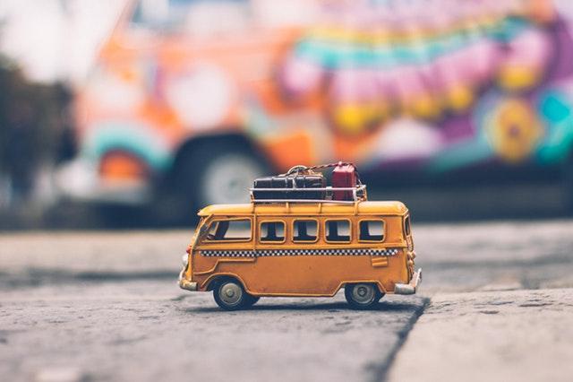A toy van