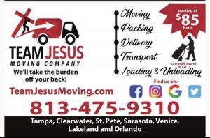 Team Jesus Moving LLC