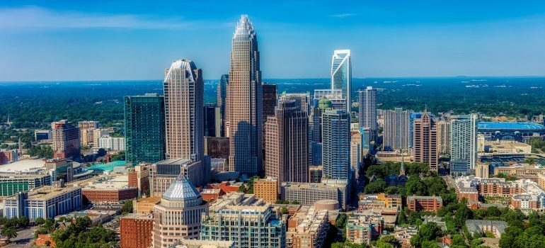 cross country moving companies Charlotte will help you move to this wonderful city!