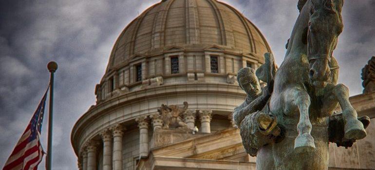 Cross country moving companies Oklahoma City: Oklahoma State Capitol