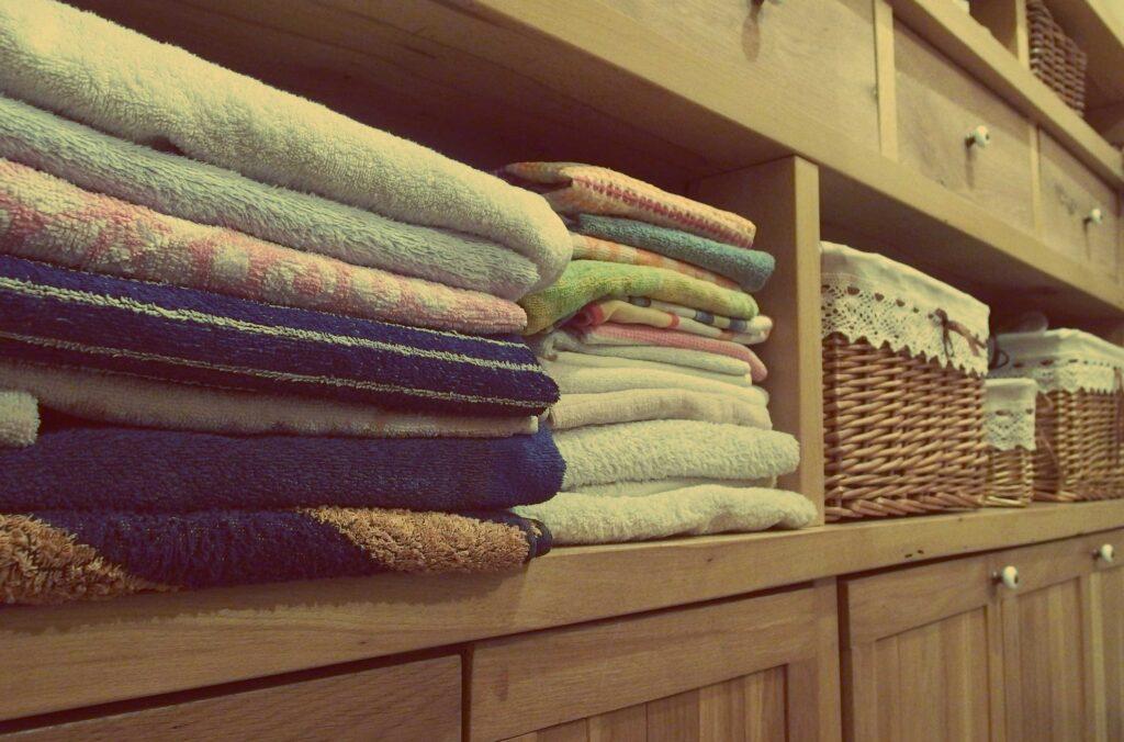 Towels on Rack